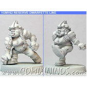 Dwarves - Dwarfette Linewomen nº 1 Set of 2 – Shadowforge