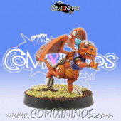 Lizardmen - Baby Lizard nº 8 - Willy Miniatures