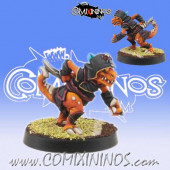 Lizardmen -  Baby Lizard Assassin Ninja Dragon - Willy Miniatures