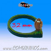 Football Ring for 32 mm Bases - Meiko