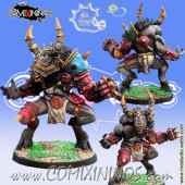 Big Guys - Nashgrak Minotaur Star Player - Meiko Miniatures