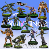 Necromantic - Necro Team of 12 Players - Rolljordan