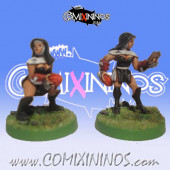 Amazons / Humans - Nun Throwers Set of 2 - Shadowforge