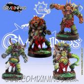 Rotten - Set of 4 Pestigors - Meiko Miniatures