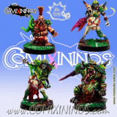 Rotten / Undead - Set of 4 Rotters - Meiko Miniatures