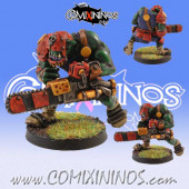 PAINTED Volgrok Orc Chainsaw Star Player