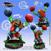 Orcs - Orc Cheerleader - Meiko Miniatures