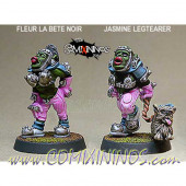 Orcs - Female Black Orcs Set of 2 – Shadowforge