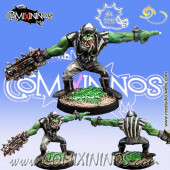 Orcs - Catenaccio Orc Referee with Chainsaw - Meiko Miniatures