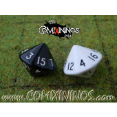 Set of Two Sixteenth-sided Dice 2d16 - Random Color