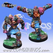 Evil - Set A of Evil Warriors nº 1 and 2 - Mano di Porco