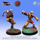 Undead / Egyptian Tomb King - Set of 2 Skeletons nº 1 and 2 - Mano di Porco