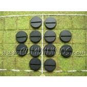 Set of Twelve 25 mm Standard Bases