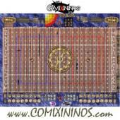 29 mm Pirate Plastic Gaming Mat with BB7 and Parallel Dugouts - Comixininos