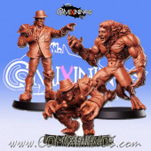 Necromantic - Rat Pack Set of 3 Necromantic Star Players - RN Estudio