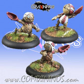 Halflings - Puppet Set of 3 Catchers - Meiko Miniatures