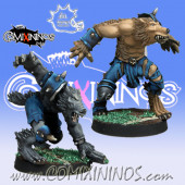 Necromantic - Set of 2 Werewolves - Meiko Miniatures