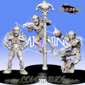 Goblins / Orcs - Set of 3 Goblins - RN Estudio