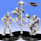 Goblins / Orcs - Set of 3 Goblins - RN Estudio
