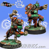 Ratmen - Set of 2 Storm Vermin Blitzers - Meiko Miniatures