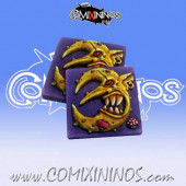 Set of 2 Goblin Reroll and Turn Counters - Chaos Factory