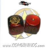 Set of 2d6 Chaos Alliance Dice - SP Miniaturas