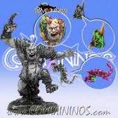 Set of 3 Big Guy Accessories: Tentacle Mutation, Head and Helmet - Meiko