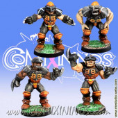 Humans - Set of 4 Blitzers - Meiko Miniatures