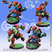 Orcs - Set of 4 Orc Blitzers - Meiko Miniatures