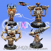 Set of 4 Fantasy Football Trophies - Meiko Miniatures