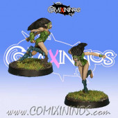 Wood Elves - Set A of 2 Silvania Catchers - Rolljordan