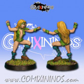 Wood Elves - Silvania Thrower nº 2 - Rolljordan