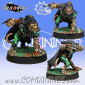 Ratmen - Gutter Runner nº 1 - Meiko Miniatures