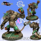 Ratmen - Rat Ogre nº 2 Poncho Star Player - Meiko Miniatures