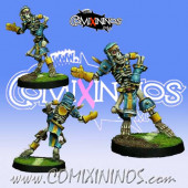 Egyptian - Skeleton Catcher Star Player - Willy Miniatures