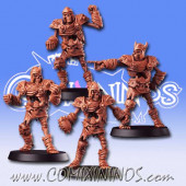 Undead - Set of 4 Undead Eternal Skeletons - RN Estudio