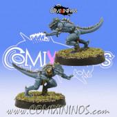 Lizardmen - Baby Lizard nº 4 - SP Miniaturas
