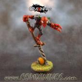 PAINTED Spider Goblin Pogo Jumper