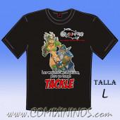 Camiseta - Las mujeres me esquivan, pero yo tengo Tackle - Talla L