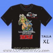Camiseta - Las mujeres me esquivan, pero yo tengo Tackle - Talla XL