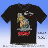Camiseta - Las mujeres me esquivan, pero yo tengo Tackle - Talla XXL