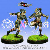 Dark Elves - Tanatos Assassins Set of 2 - MK1881