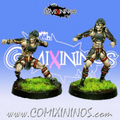 Dark Elves - Tanatos Linemen Pack 1 of 2 Players – MK1881