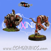 Ratmen - Tengu Set of 2 Ratmen Throwers - Rolljordan