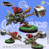 Goblins - Goblin Thunder God Fanatic - Meiko Miniatures