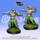 Wood Elves - Set of 2 Cabiri Throwers - MK1881