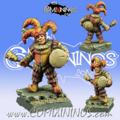 Humans - Town Guard Drummer Hooligan - Scibor Miniatures