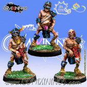 Undead / Necromantic - Set of 3 Zombies - Meiko Miniatures