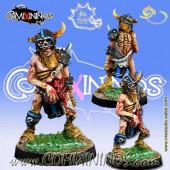 Undead / Necromantic - Norse Zombie nº 2 - Meiko Miniatures