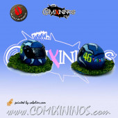 Valentino Rossi Helmet Sport Football - Mano di Porco